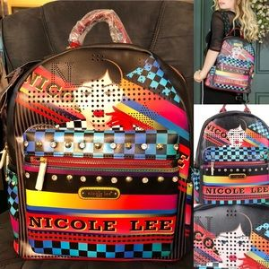 "Nicole Lee ""Racing Girl"" Backpack w/ Laptop Pocket"